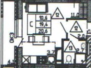 Продажа однокомнатной квартиры в новостройке на улице Кривошеина, ., Купить квартиру в Воронеже по недорогой цене, ID объекта - 320573439 - Фото 2