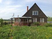 Бревенчатый дом и баня на 13 сотках в д.Захнево, Рузского района