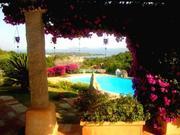 Вилла с садом, бассейном и панорамой на Средиземное море на о.Сардиния