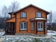 Новый дом 180 кв.м с отделкой и всеми коммуникациями в жилой деревне