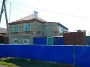 Двухэтажный дом с гаражом на 2 автом. в Чаплыгинском р-не Липецкой обл - Фото 1