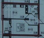 В прямой продаже однокомнатная квартира в новом доме проспект героев18 - Фото 4