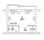 1-к 39 м2 Молодёжный пр, 3а, Купить квартиру в Кемерово по недорогой цене, ID объекта - 322103505 - Фото 11