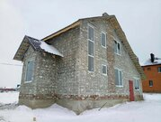 Кирпичная коробка дома с гаражом и окнами в Разумное - Фото 2
