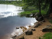 Участок на берегу Орлинского озера - Фото 2