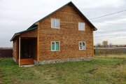 Новый дом из бруса 150 кв.м в жилой деревне в 85 км от МКАД