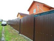 Новый дом в Матвеево, брус, площадью 135 кв.м, в 57 км. от Москвы. - Фото 1