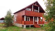 Новый дом из бруса с коммуникациями в жилой деревне в 82 км от МКАД.