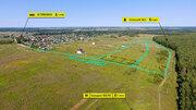 Земельный участок 30 соток, ИЖС, в д. Карцово, Дзержинский район - Фото 2