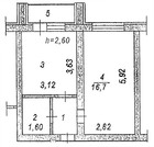 Продается 1-комнатная квартира, ул. Семейная, Купить квартиру в Пензе по недорогой цене, ID объекта - 322555209 - Фото 7