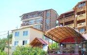 Продажа двухкомнатной квартиры в Алупке с видом на море и своим двором - Фото 1