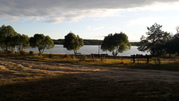 Продам участок на берегу озера в д.Озерки
