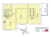 Дом сдан. Двушка 54 м2 в новом жилом комплексе бизнес-класса