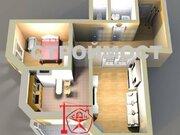 Продажа двухкомнатной квартиры на улице Дейнеки, 1 в Курске, Купить квартиру в Курске по недорогой цене, ID объекта - 320007111 - Фото 1