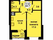 Продам 1-комн. квартиру 43,8 кв.м. Октябрьская д.8
