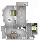 Продам 3 комнатную квартиру 100 м2 в ЖК «Castle Houses». - Фото 1