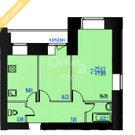 2-х комнатная квартира г.Пермь ул. Менжинского 53а, Купить квартиру в Перми по недорогой цене, ID объекта - 322444423 - Фото 2