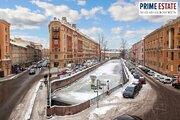 Настоящая Петербургская 2к квартира с видом на кан Грибоедова, Купить квартиру в Санкт-Петербурге по недорогой цене, ID объекта - 317323234 - Фото 11