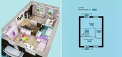 """Просторная трехуровневая квартира (Таунхаус """"Уэльс""""), Таунхаусы в Перми, ID объекта - 502676401 - Фото 4"""