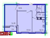 Продажа двухкомнатная квартира 58.02м2 в ЖК Рощинский дом 7.3. секции .