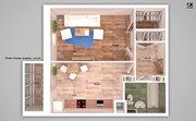 Однокомнатная квартира с ремонтом и индивидуальным отоплением! - Фото 2