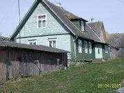 Жилой дом на острове в Псковском озере