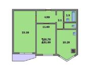 2-комнатная квартира на Летной 1, Продажа квартир в Балашихе, ID объекта - 328902544 - Фото 11