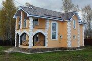 Лизуново. Новый дом из пеноблоков. Все коммуникации. 85 км от МКАД (Яр