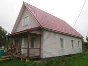 Продам блочный дом с газом 64 км от МКАД Серпуховский р-н - Фото 1