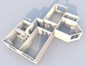 Просторная 3к квартира с ремонтом, 7 мин от Академической - Фото 1