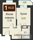 2 988 000 Руб., Продажа квартиры, Новосибирск, Ул. Обская 2-я, Купить квартиру в Новосибирске по недорогой цене, ID объекта - 319346142 - Фото 9