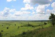Просторный участок с панорамным видом на долину реки Оки - Фото 3