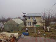 Земельный участок 6 сот. с садовым домом 90м2 в М.О. Каширский район .