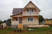 Новый дом из бруса 160 кв.м в жилой деревне в 83 км от МКАД