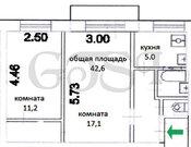9 500 000 Руб., Уютная 2-х комнатная квартира в кирпичном доме, Купить квартиру в Москве, ID объекта - 333824288 - Фото 6