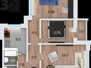 Продажа однокомнатной квартиры в новостройке на Корейской улице, влд6а ., Купить квартиру в Воронеже по недорогой цене, ID объекта - 320573746 - Фото 2