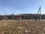 Участок, 20 соток на первой линии пруда, ИЖС, д. Чепелево Чеховский р - Фото 1