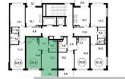 Продам 2-к квартиру, Коммунарка п, улица Липовый Парк 4к2 - Фото 3