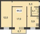 2 100 000 Руб., Продажа 2-комнатной квартиры на ул. Должанская д. 35а, Купить квартиру в Нижнем Новгороде по недорогой цене, ID объекта - 322522025 - Фото 7