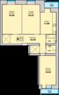 3 761 750 Руб., Просторная квартира в новом , сданном доме мкр.Гайва, Купить квартиру в Перми по недорогой цене, ID объекта - 320790508 - Фото 10