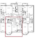 7 секция, 5 и 6 этаж, 5-ти комнатная двухэтажная квартира, 200 кв.м.