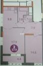 Продается 2-х комнатная квартира в г. Видное, ул. Радужная, д. 2 - Фото 1