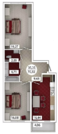 Продам 2 комнатную квартиру 75 м2 в ЖК «Castle Houses» - Фото 1