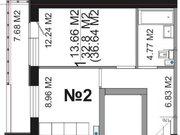 Продажа однокомнатной квартиры на Центральной улице, 1 в микрорайоне .