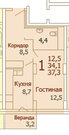 Купи квартиру в ЖК Красково у надежного Застройщика по акции! - Фото 1