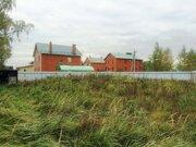 Земельный участок 12 сот. с гаражом и фундаментом в п Михнево - Фото 1