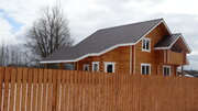 Новый дом из бруса 130 кв.м. 10 сот. Долматово Александровский р-н - Фото 1
