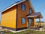 С. Филипповское теплый дом с камином на 12 сотках. свет, вода, септик - Фото 1