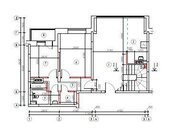 2-х уровневая квартира 110квм, Мытищи, вдхр Пироговское 800м