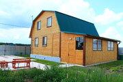 Новый жилой дом с баней на 12 сотках. Рядом лес и озеро. 86 км от МКАД - Фото 1